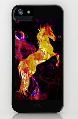 War horse iphone case