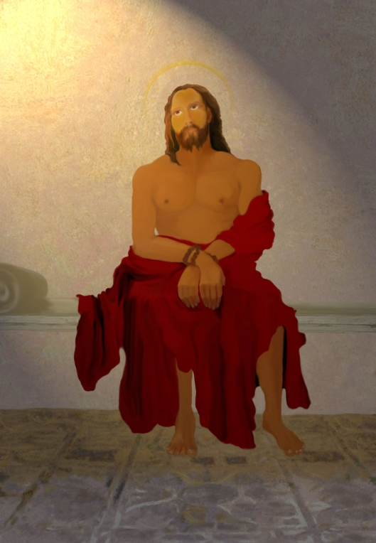 The disrobing of Jesus Christ