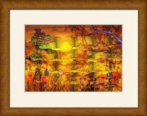 Abundance framed