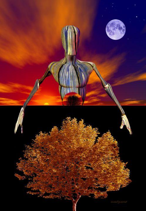 Gaia by valzart
