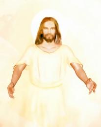 Jesus returns close-up