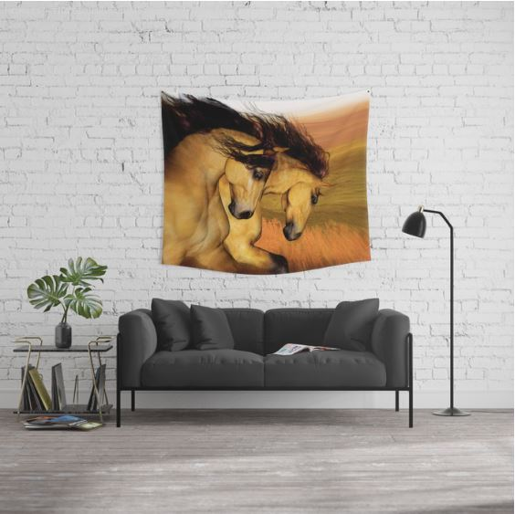 The Buckskins Wall Tapestry