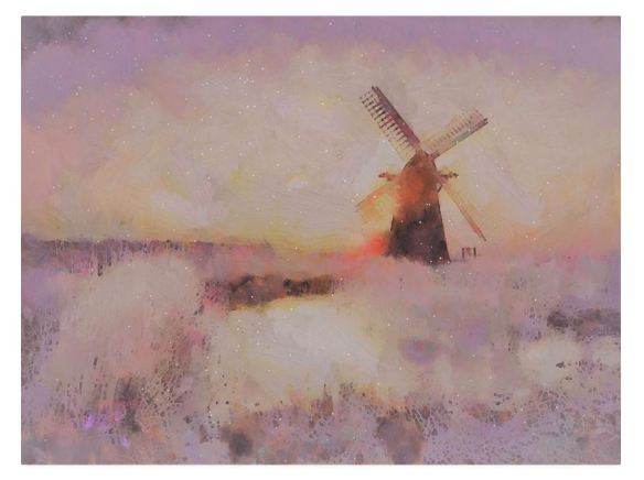 Frosty Windmill