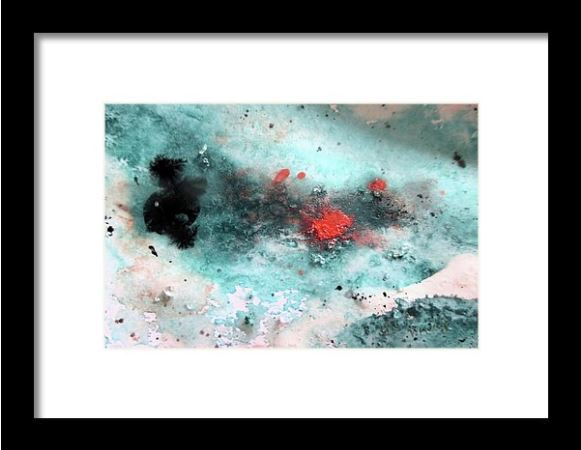 Sapphire Waters-framed Print